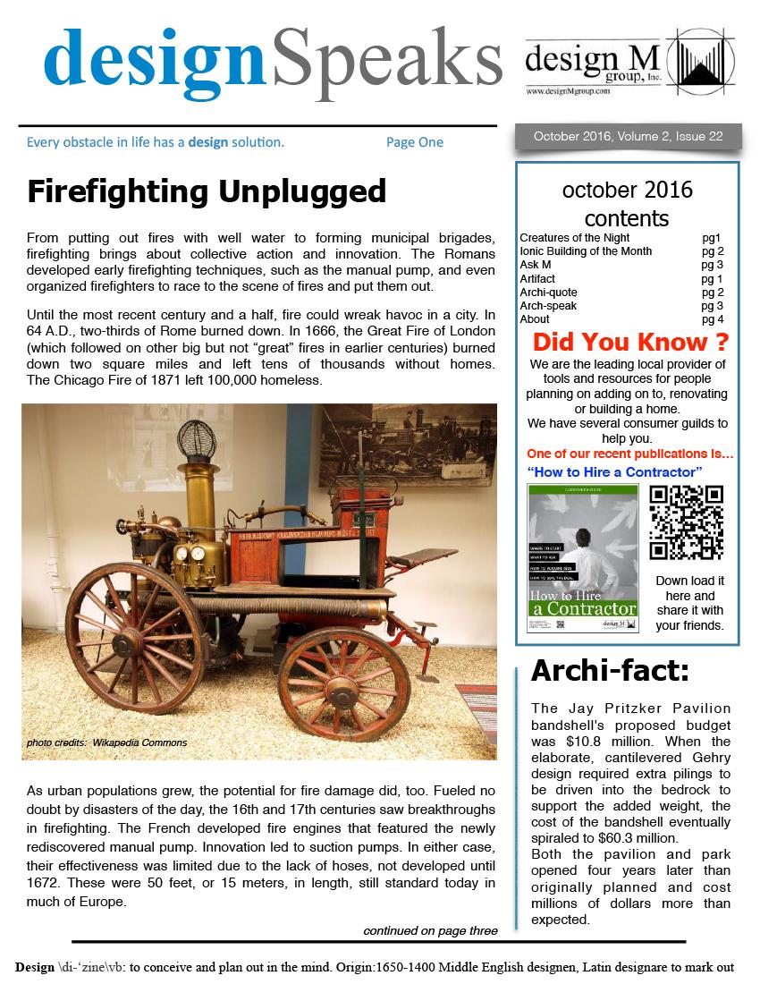 Design Speaks September